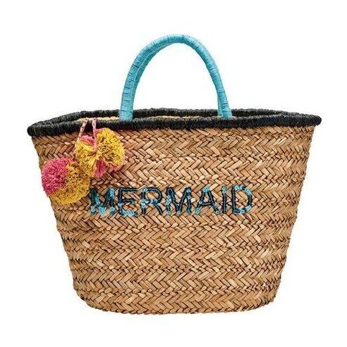 2018 Fashion Rattan Woven Handbag Straw Beach Bag pom pom dubai for summer